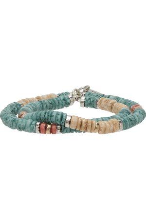 Isabel Marant Men Bracelets - Blue Seashell Bracelet