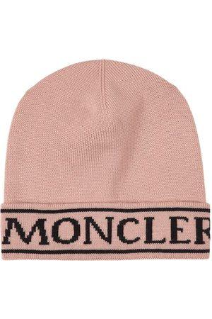 Moncler Kids - Dusty Rose Berretto Beanie - M (54 cm) - - Beanies