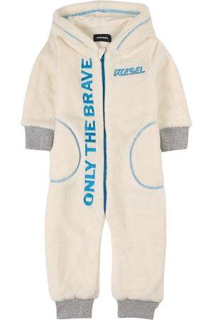 Diesel Kids - Only The Brave Onesie - 12 months - - Rompers
