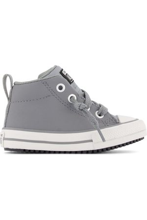 Converse Kids - Gray Chuck Taylor All Star Street Ankle Boots - 20 (UK 4) - - Ankle boots