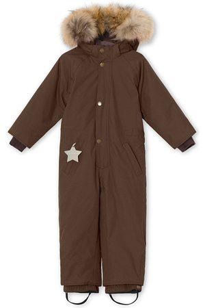 Mini A Ture Kids - Dark Choco Wanni Snowsuit - 2y/92cm - - Winter coveralls