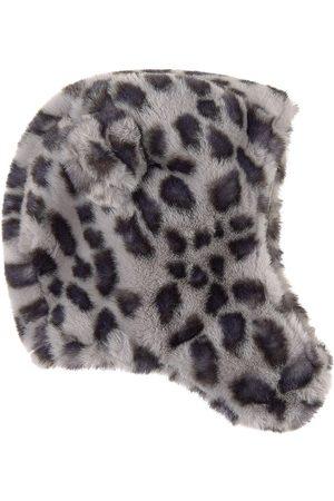 Molo Snowy Leo Fur Kenobi Beanie - 1-2 Years - Grey - Beanies
