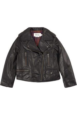BONPOINT Temple Biker Jacket - 4 years - - Leather jackets