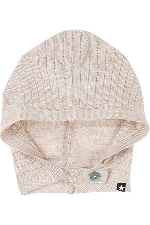 Molo Kelly Baby Hats Doeskin Melange - 0-6 Months - Khaki - Sun hats