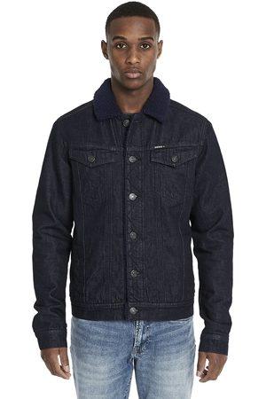 Buffalo David Bitton Men Denim Jackets - JOE Sherpa Lined Denim Jacket