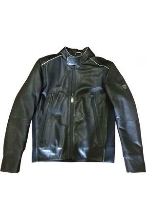 Lamborghini Men Gilets - Leather vest
