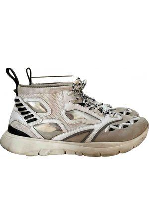 VALENTINO GARAVANI Leather high trainers