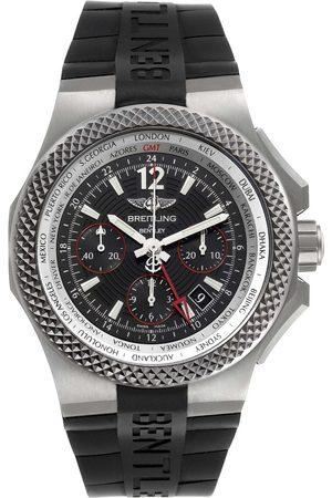 Breitling Men Watches - Bentley Gmt Light Body B04 Titanium Mens Watch Eb0433 Unworn