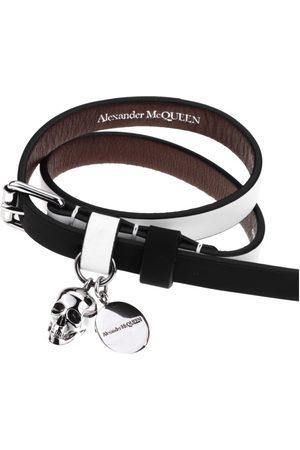 Alexander Mcqueen Wrap Around Skull Bracelet