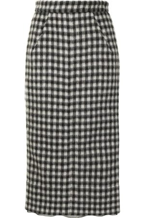 N°21 Women Pencil Skirts - Checked Pencil Skirt