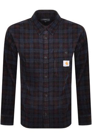 Carhartt Men Jackets - Flint Corduroy Checked Overshirt Jacket B