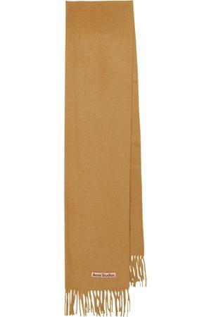 Acne Studios Cashmere fringe scarf