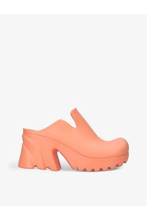 Bottega Veneta Women Heeled Sandals - Flash rubber heeled mules