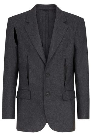 Fendi Grey wool blazer