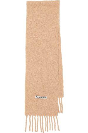 Acne Studios Alpaca bouclé scarf