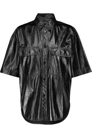Isabel Marant Gilina faux leather shirt