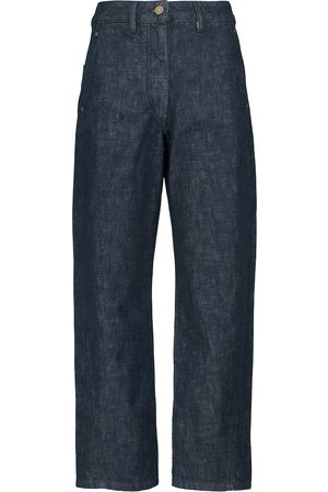 LEMAIRE Women High Waisted - High-rise straight jeans