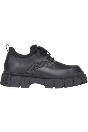 Fendi Men Ankle Boots - Leather lace-ups