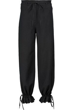 Acne Studios Wool-blend sweatpants