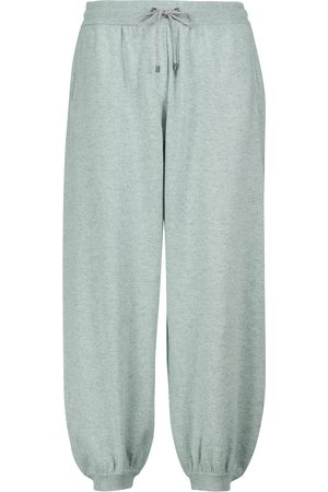 Brunello Cucinelli Wool, cashmere and silk sweatpants