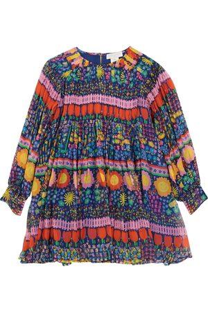 Stella McCartney Printed silk georgette dress