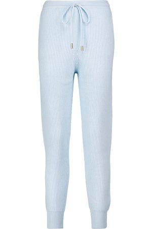 Jonathan Simkhai Nina ribbed-knit sweatpants
