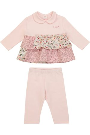 Il Gufo Baby set of stretch-cotton top and pants