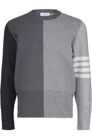 Thom Browne Funmix Intarsia pullover
