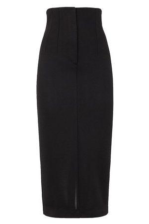 Fendi Women Pencil Skirts - Piqué skirt