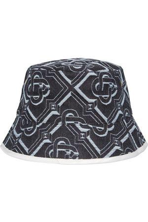 Casablanca Monogram Denim bucket hat