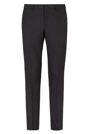 Fendi Men Pants - Wool trousers