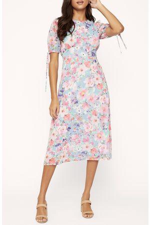Lost + Wander Women's Monets Garden Midi Dress