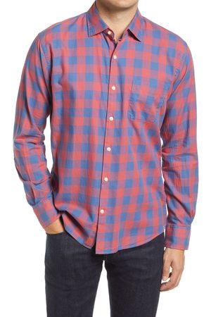 Peter Millar Men's Moose Jaw Check Button-Up Shirt