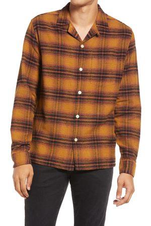 AllSaints Men's Ysidro Plaid Button-Up Shirt