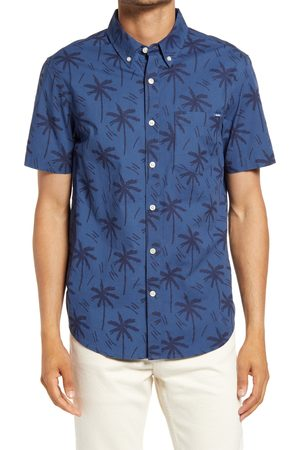 Chubbies Men's The Smooth Operator Short Sleeve Button-Down Shirt
