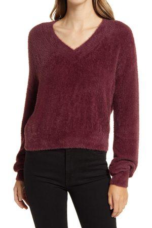 Halogen Women's Halogen Dreamy Yarn V-Neck Sweater