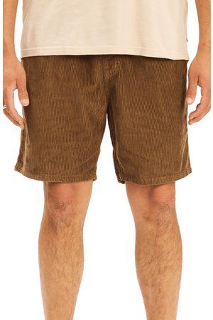 Billabong Men's Bowie Layback Organic Cotton Corduroy Shorts