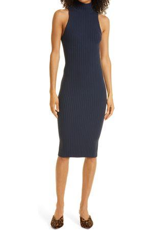 Ramy Brook Women's Regina Ribbed Body-Con Sleeveless Sweater Dress