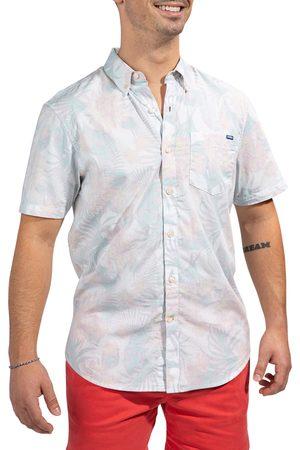 Chubbies Men's The Flordom Floral Short Sleeve Button-Down Shirt