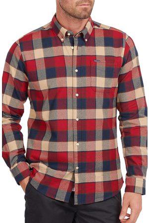 Barbour Men's Valley Tailored Fit Plaid Button-Down Shirt