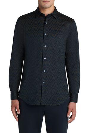 Bugatchi Men's Ooohcotton Print Button-Up Shirt