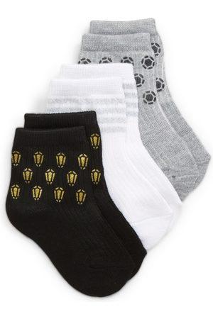 Nordstrom Toddler Girl's Kids' Assorted 3-Pack Ankle Socks