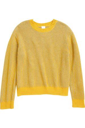 Open Edit Toddler Kids' Contrast Crew Sweater
