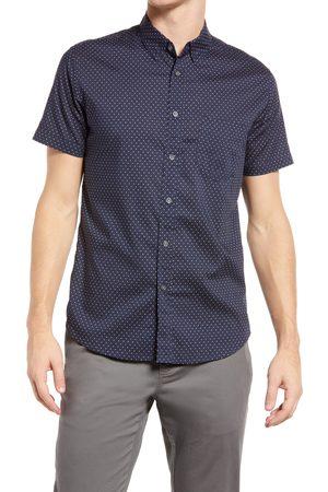 Rails Men's Monaco Dot Print Short Sleeve Button-Up Shirt