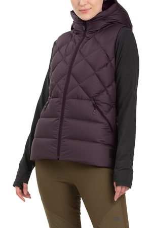 Outdoor Research Women's Coldfront 700 Fill Power Hooded Down Vest