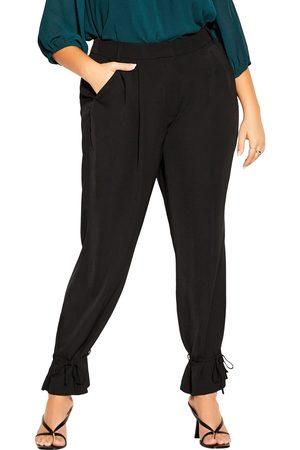 City Chic Plus Size Women's Tie Love Pants