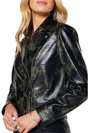 Ramy Brook Women Rainwear - Women's Kane Snake Print Jacket