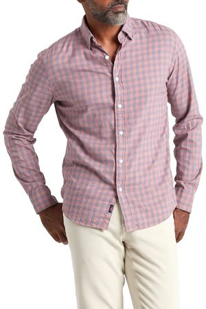 Faherty Men's Movement Button-Up Shirt
