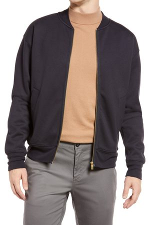 Scotch & Soda Men's Men's Bomber Sweatshirt Jacket