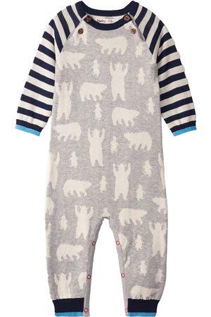 Hatley Infant Boy's Polar Bear Long Sleeve Cotton Romper